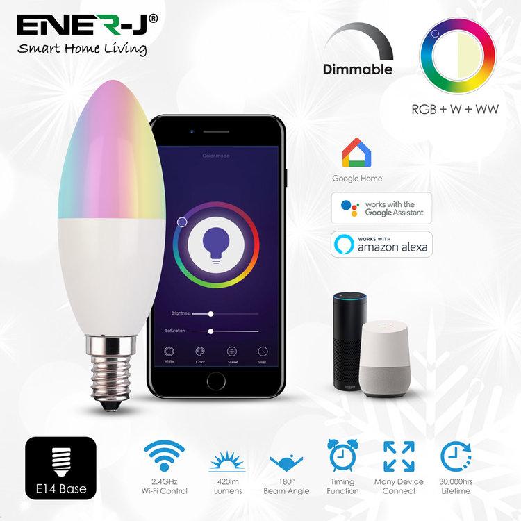 Ener-J Ener-J Smart WiFi LED Candle 4.5W