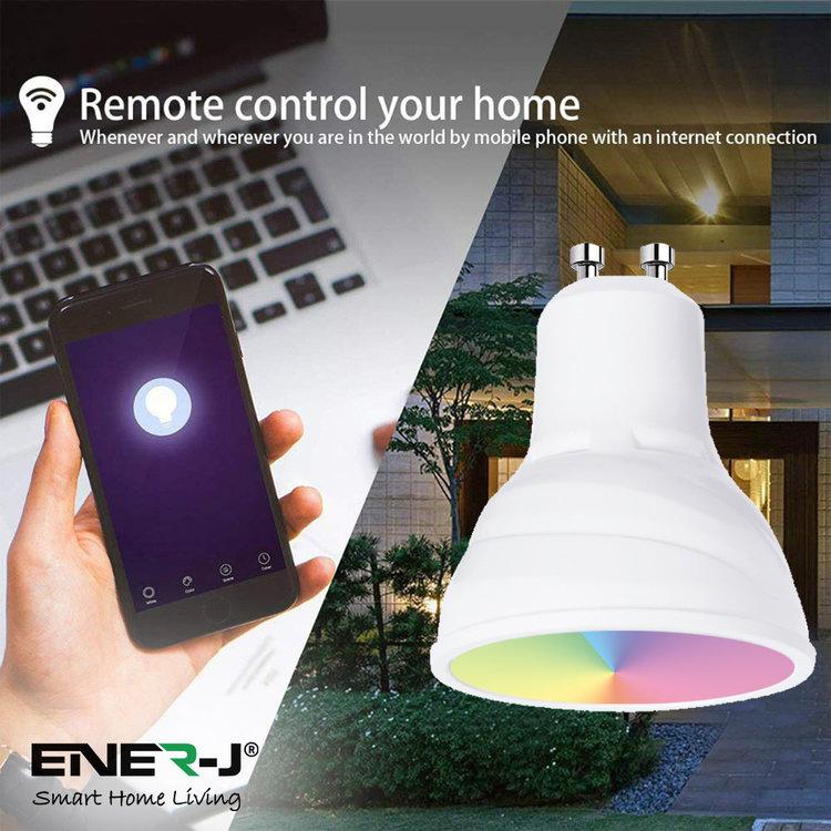 Ener-J Ener-J Smart WiFi LED GU10 5W
