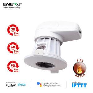 Ener-J Ener-J Smart WiFi LED Downlight 18W Dimmable