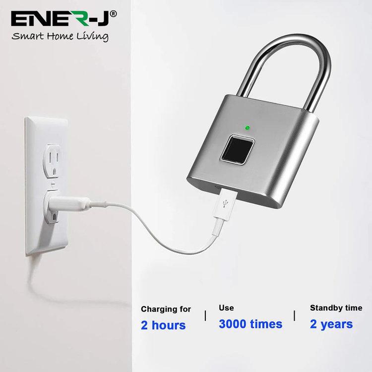 Ener-J Ener-J Smart Fingerprint Padlock
