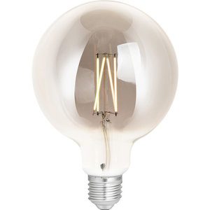 WIZ Smart CCT G125 Filament Bulb Smoky E27