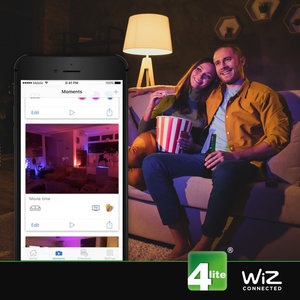 WIZ G125 Filament Bulb Amber E27 WIZ