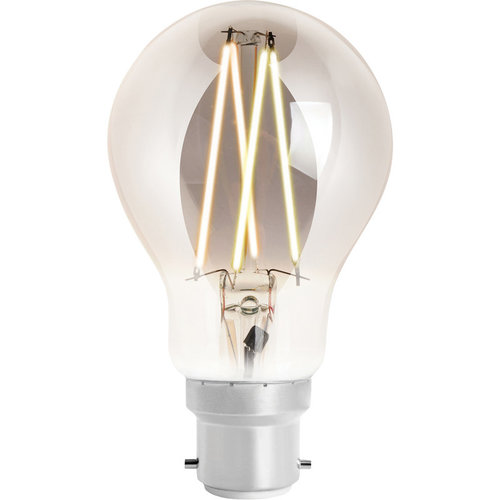 WIZ Smart CCT A60 Filament Bulb Smoky B22