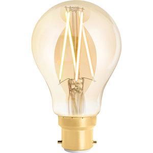 WIZ Smart CCT A60 Filament Bulb Amber B22
