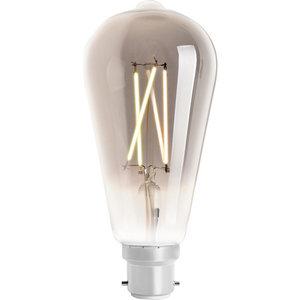 WIZ Smart CCT ST64 Filament Bulb Smoky B22
