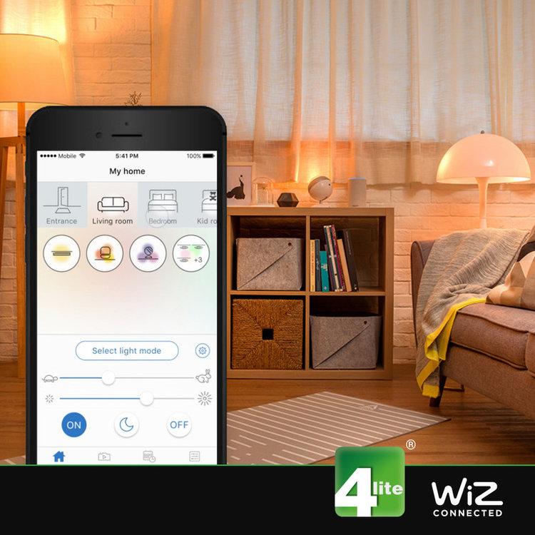 WIZ ST64 Filament Bulb Smoky B22