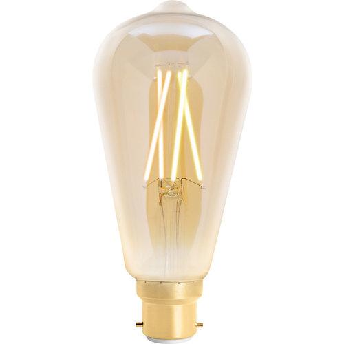 WIZ Smart CCT ST64 Filament Bulb Amber B22