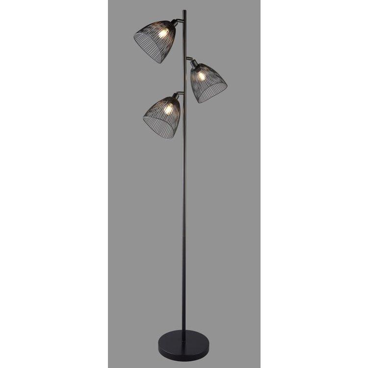 Jaula Multi Head Floor Lamp