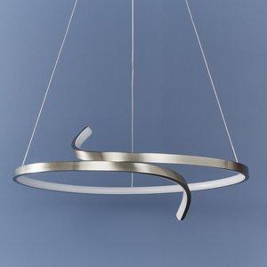 Endon Rafe pendant - S.nickel