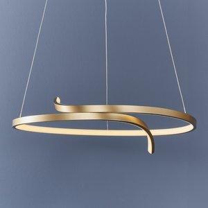 Endon Rafe pendant - S.gold