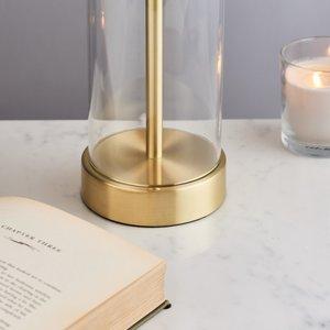 Endon Lessina table - gold