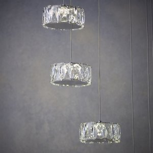 Endon Prisma 8lt pendant