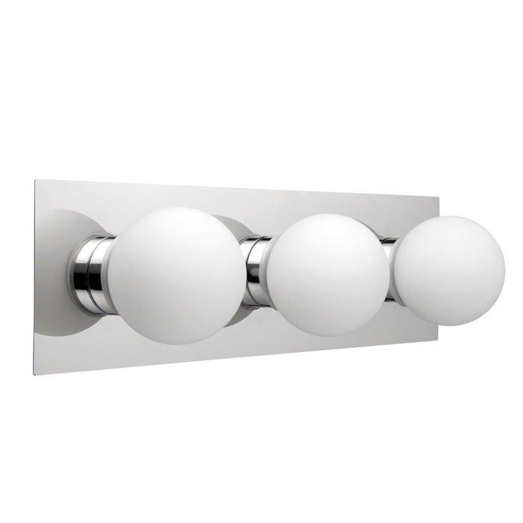 Poole Lighting Gemini 3lt Bathroom Wall Light