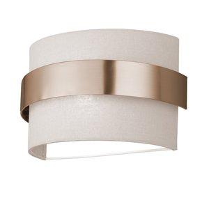 Poole Lighting Lowe Ivory Wall Light
