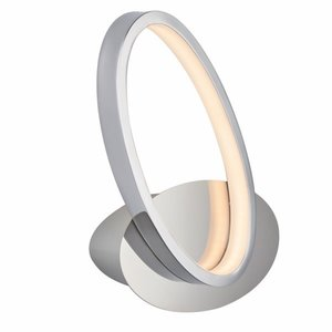 Endon Aria 1LT Wall 9W Warm White - Chrome Plate