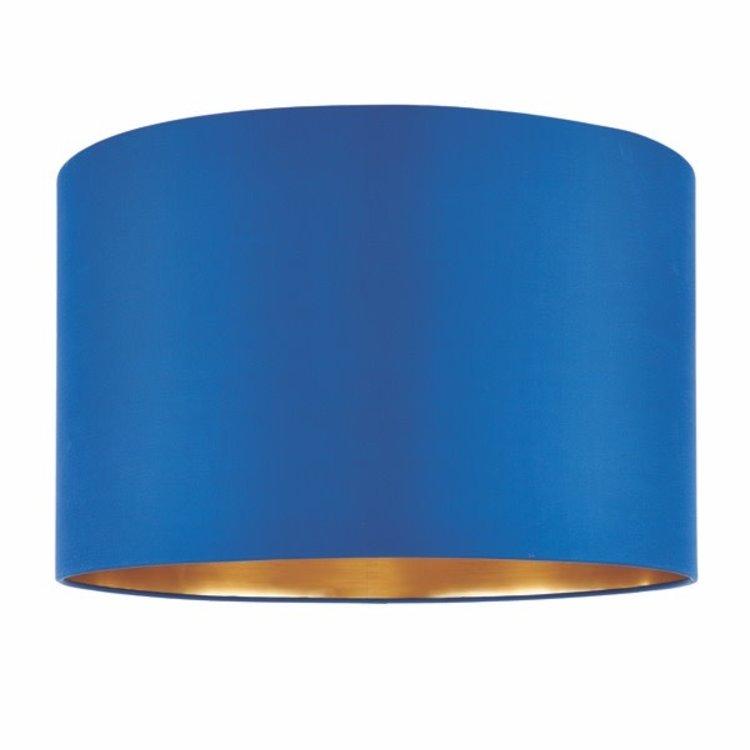 Endon Boutique 16 Inch Shade - Midnight Blue Silk