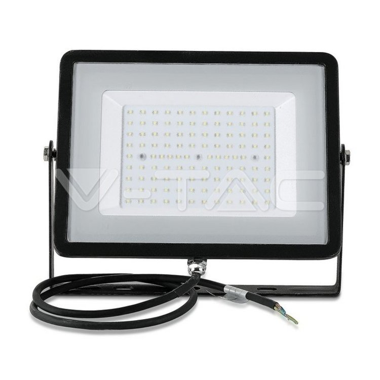 V-Tac V-Tac 100w LED Flood Black 8000LM 3000K