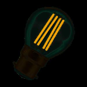Crompton LED Round Filament Clear 6.5W 2700K BC-B22d