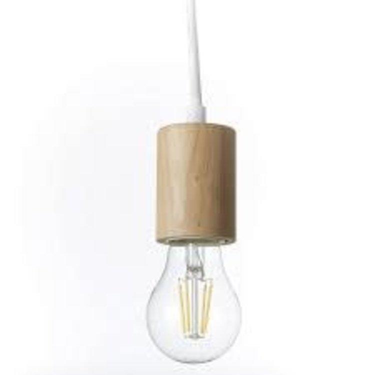 Brilliant Bolight E27 3 Light Pendent White-Oak Effect