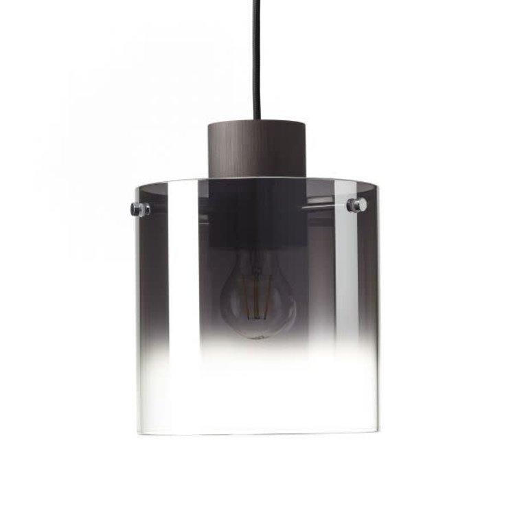 Brilliant Beth 3 Light Pendant E27 Coffee/Grey