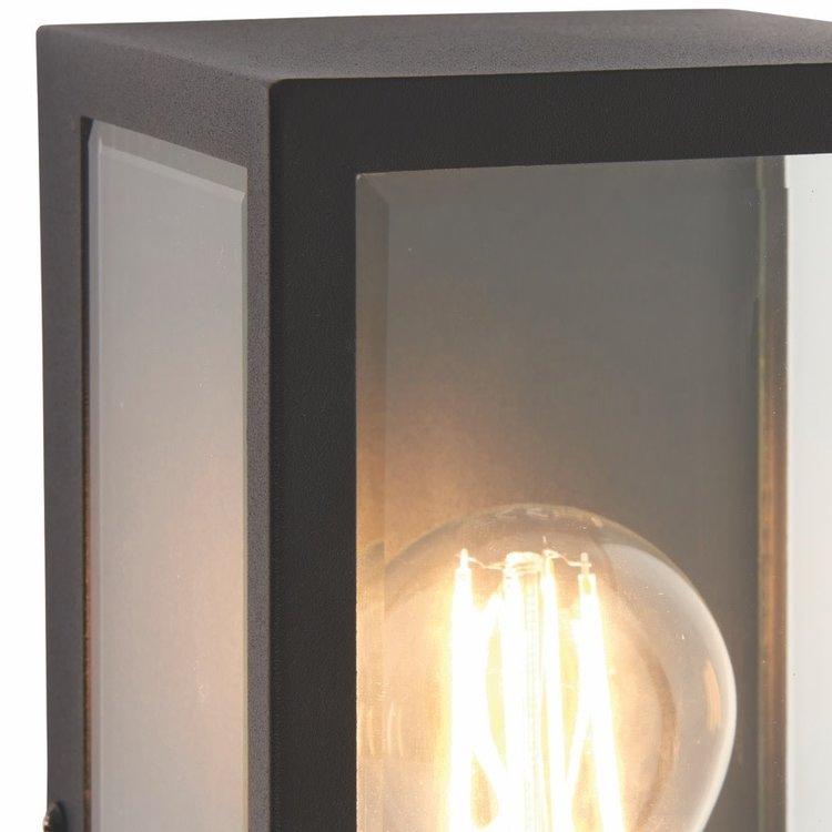 Poole Lighting Windsor Outdoor Black Wall Light