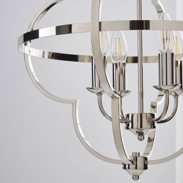 Poole Lighting Minford 4lt Pendant