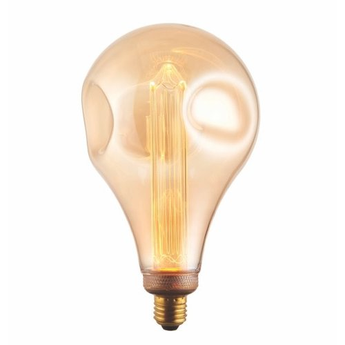 Endon XL E27 LED Dimple Globe 148mm dia