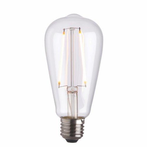 Endon E27 LED filament pear
