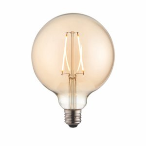 Endon E27 LED filament globe 125mm dia