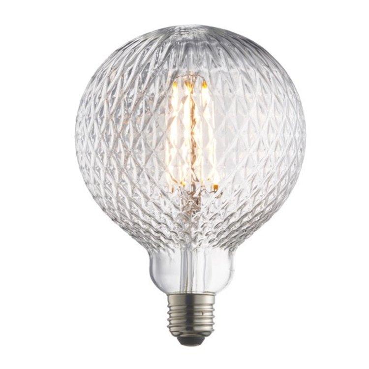 Endon Facet E27 LED Filament 125mm dia
