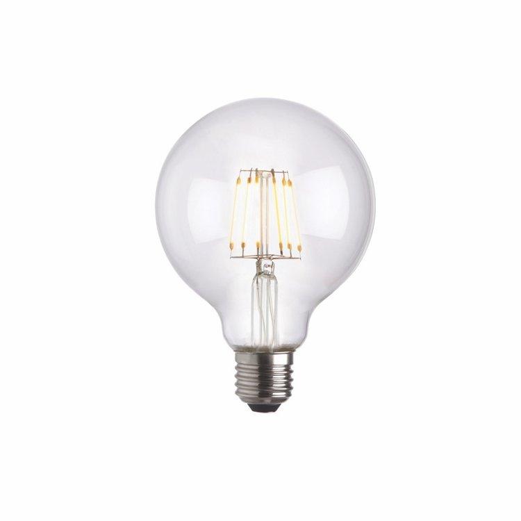 Endon E27 LED filament globe 95mm dia