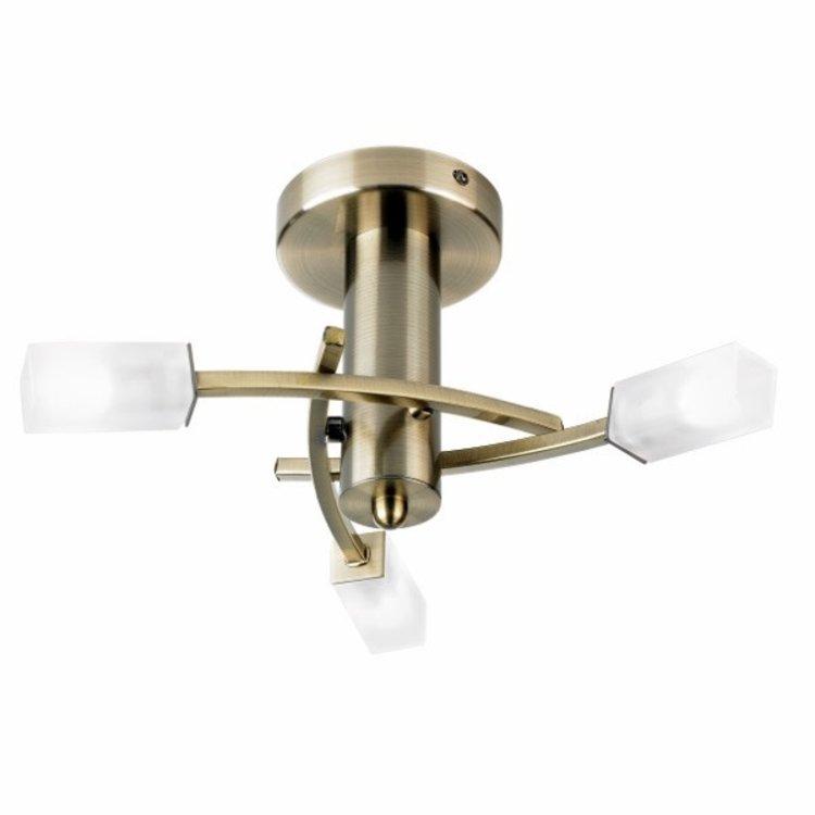 Endon Havana 3lt semi flush - A Brass