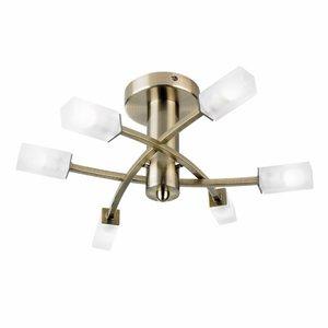 Endon Havana 6lt semi flush - A Brass