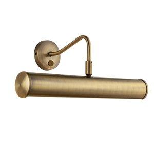 Endon Turner 2lt 355mm wall - A.brass