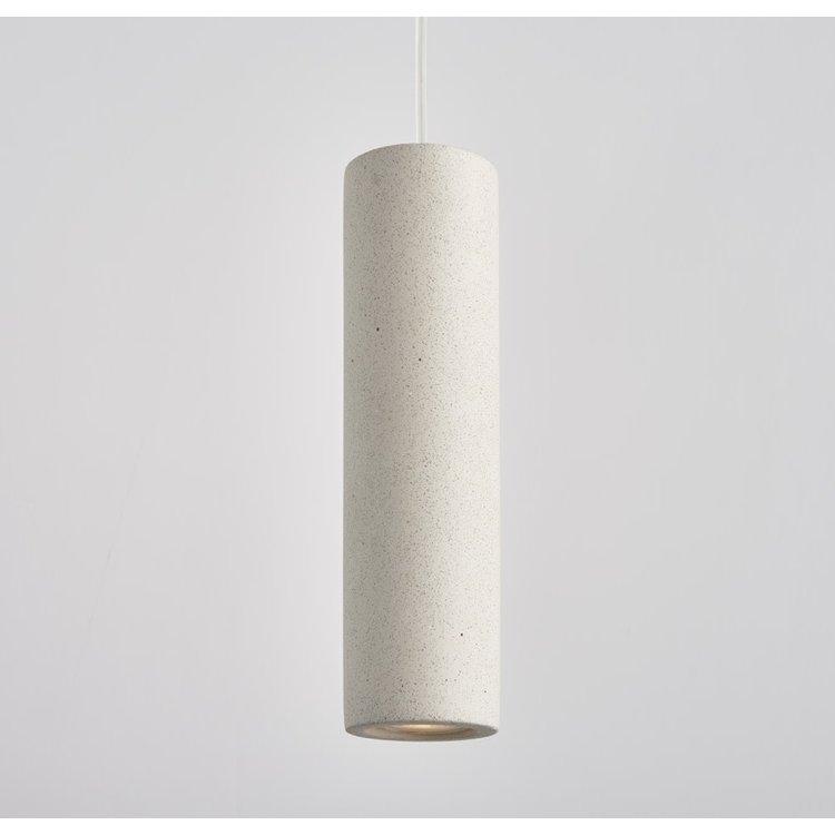 Endon Asta pendant - Sandstone White