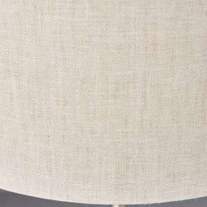 Endon Highclere 3lt Table - BrChrome/Natural