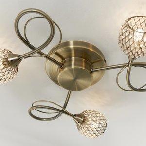 Endon Aherne 3lt  s/flush Brass