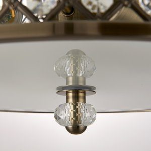 Endon Hudson s/flush - A.brass