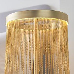 Endon Zelma Table - Gold