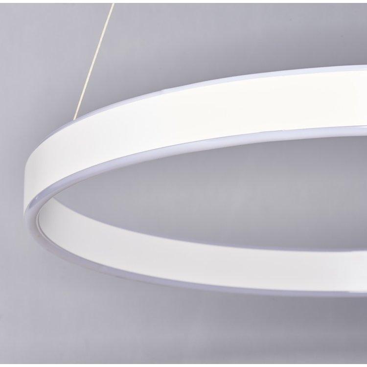 Endon Gen ring pendant - white