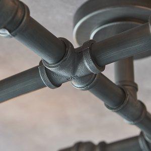 Endon Pipe 6lt semi flush