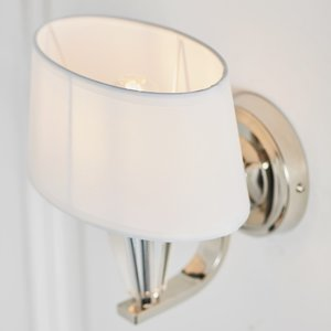 Endon Fiennes wall 40W - chrome plate