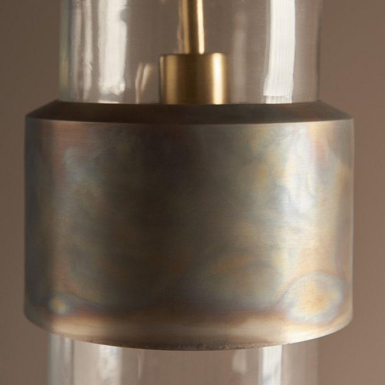 Endon Akari 1lt Pendant - Bronze