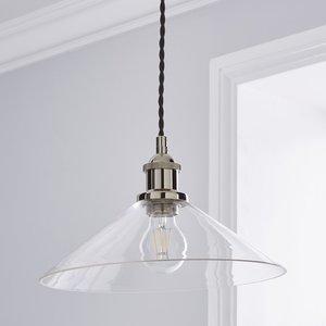Poole Lighting Nickleson 1lt Pendant