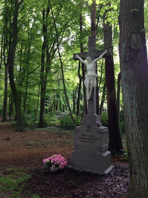 Spezialreinigung an einem Denkmal