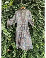 Kimono Berries Charcoal