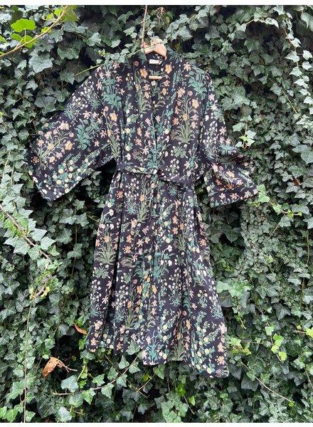 Kimono Garden Black