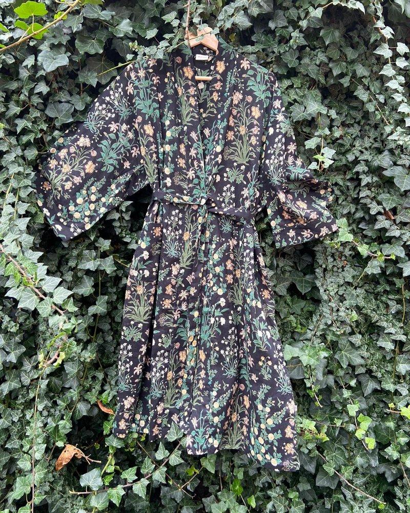 The Shop kimono garden Balck