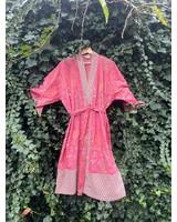 Kimono Garden Red