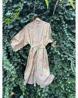 Kimono Palm Aqua